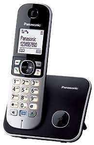 Panasonic KX-TG6811GB DECT-Schnurlostelefon (4,6 cm (1,8 Zoll) Grafik-Display) schwarz