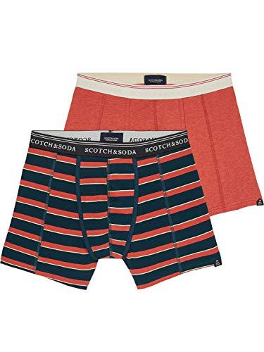 Scotch & Soda Herren Boxershorts Classic Boxer Short 145129 Combo B S
