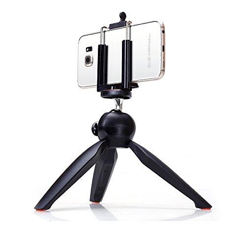 NIERBO Portable Mini Trípode para Soporte para Teléfono Clip de Escritorio Trípode Flexible Deporte Videocámara Accesorio Ligero Extendido Longitud 260mm