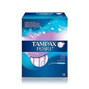 Tampax Pearl - Stamp with Applicator Plastic x 18 Light
