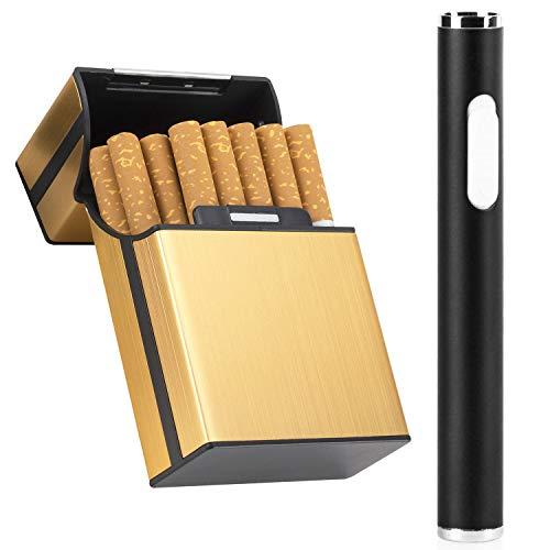 9af80d1a859b33 LUWANZ Encendedor eléctrico USB Mechero eléctrico recargable resistente al  viento Lighter Portátil USB sin llama en