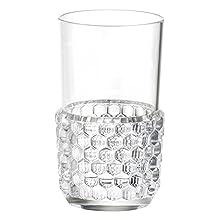 Kartell Jellies Family Bicchiere, Set da 4, Trasparente