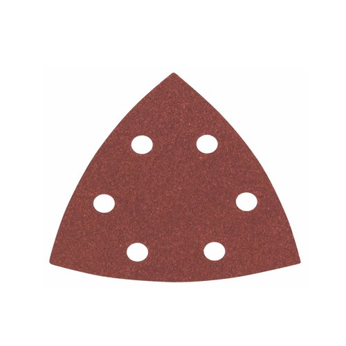 Bosch Pro Schleifblätter für Dreieckschleifer und Multi-Cutter (5 Stück, 93 mm, Körnung 120, C430)