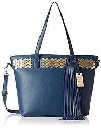 Stella Ricci Womens Shoulder Bag (Navy Blue) (SR212HNBLU)