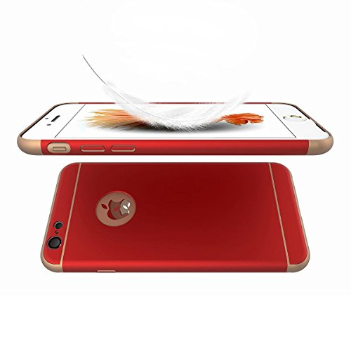 pronuk® Étui antichoc Armor iPhone 6/6S Rouge