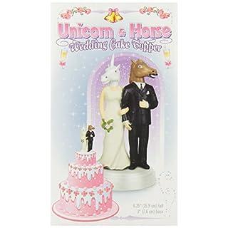 Accoutrements–Einhorn und Pferd Hochzeit Tortenaufsatz