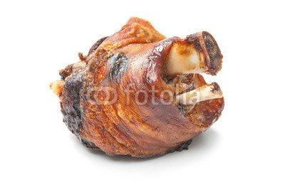 Alu-Dibond-Bild 140 x 90 cm: 'Schweinshaxe', Bild auf Alu-Dibond