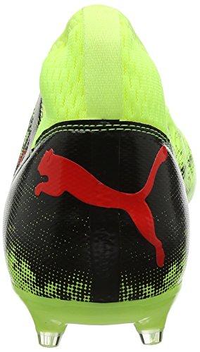 Puma Future 18.3 FG/AG, Chaussures de Football Homme Jaune (Fizzy Yellow-red Blast-puma Black)