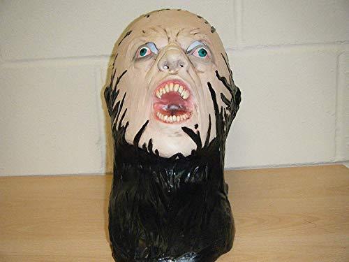 WRESTLING MASKS UK Zombie Monster Gesicht Deluxe Latex Horror Halloween Kostüm Kopfmaske (Kostüme Halloween Horror Uk)