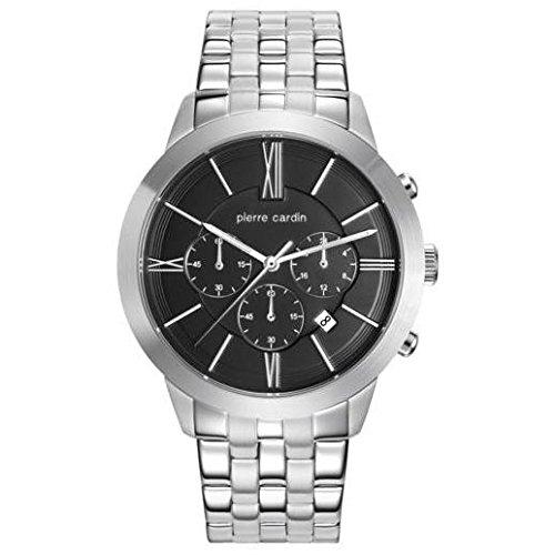 PIERRE CARDIN Reloj Cronógrafo para Hombre de Cuarzo con Correa en Acero Inoxidable PC105891F14