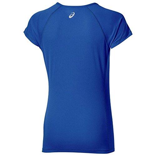 ASICS Women's Manche Courtes T-Shirt - SS16 Navy blue