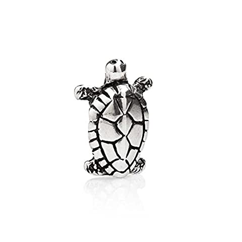 Tedora Italy : Sterling Silver Turtle Charm