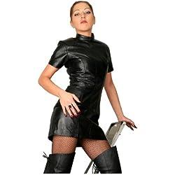 Erogance - Vestido - para mujer negro XL