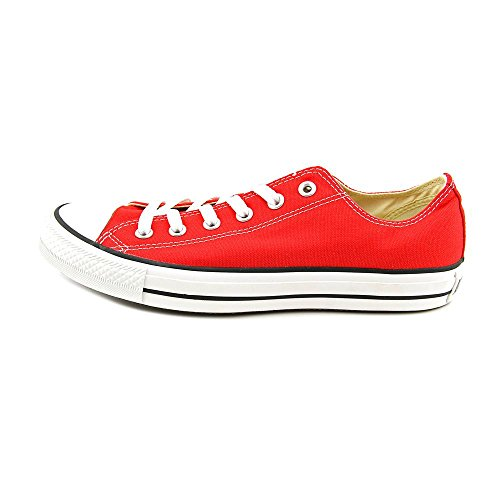 Converse  All Star Ox Canvas Seasonal,  Unisex-Erwachsene Gymnastikschuhe M9696 rot/weiß