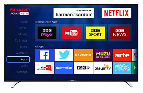 Sharp LC-32CFG6241K 32-Inch LED Smart Full HD TV with Freeview HD (Certified Refurbished)