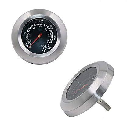 GFTIME Termómetros para Barbacoas y Ahumadores BBQ Termómetro Medidor de Temperatura Piezas de Repuesto Termómetro de Horno Parrilla Accesorios
