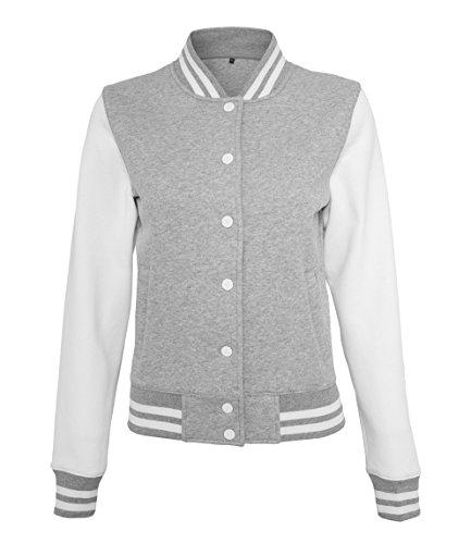 Artdiktat Oldschool Sweat College Jacket Damen - FIRE FIGHTER STANDARD ISSUE FIRE-DEPT. Größe L, - Of L Dept Ny