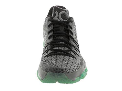 Nike Herren KD 8 Basketballschuhe, Talla Silber / Grau / Schwarz / Grün (Nght SLVR / Dp PWTR-Tmbld Gry-Gr)