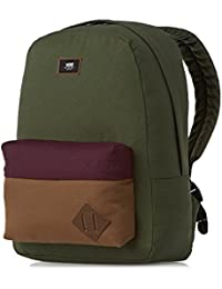 Vans Old Skool II Backpack Sac à épaule loisir, 42 cm, 22 L, Bicolore (Noir/Blanc)