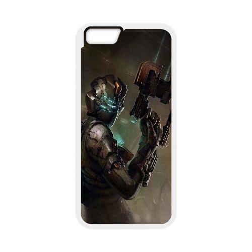 Dead Space 3 coque iPhone 6 Plus 5.5 Inch Housse Blanc téléphone portable couverture de cas coque EBDXJKNBO13041