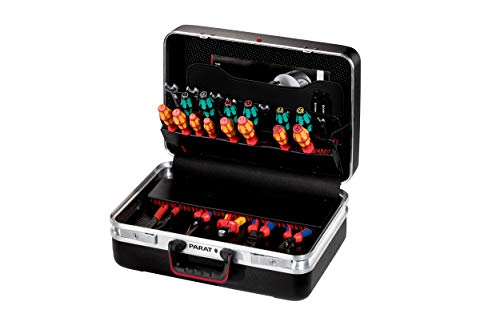Prarat Werkzeugkoffer CLASSIC Plus, Ordnungssystem CP-7 - 2 Schlüssel, 1 Längssteg 3 Querstegen, 48x36x21cm - 581.000.171 (ohne Inhalt)