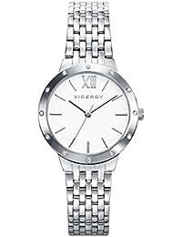 ae2dcce61e Viceroy 40920-03 S Reloj para mujer de acero, impermeable