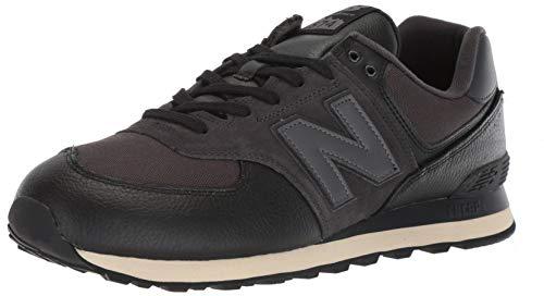 Preisvergleich Produktbild New Balance Men's Iconic 574 Sneaker,  Black / Black,  9.5 2E US