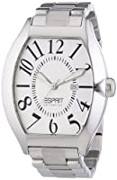 Esprit Collection hector silver EL101081F05 - Reloj analógico de cuarzo para hombre, correa de acero inoxidable color plateado (agujas luminiscentes) de Esprit Collection