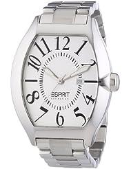 Esprit Collection - EL101081F05 - Hector - Montre Homme - Quartz Analogique - Cadran Argent - Bracelet Acier Argent
