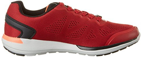 Lotto Sport Cityride II Amf, Chaussures Multisport Outdoor Homme Rouge (Ketchup/blk)