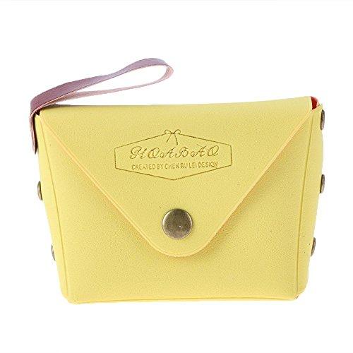 domybest Mini Geldbörse Süße Candy Farbe Münzen Tasche Exquisite Schlüssel Kleine Taschen