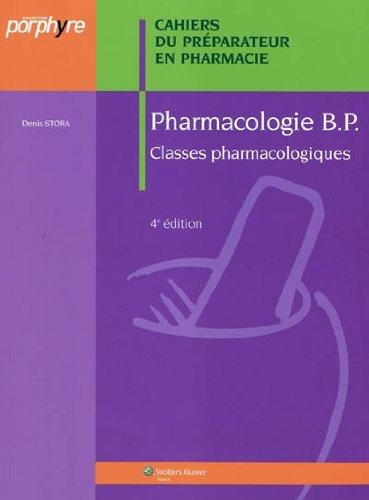 Pharmacologie BP