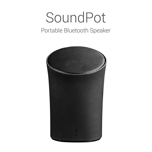Portronics POR-280 Sound Pot Wireless Bluetooth Speaker (Black)