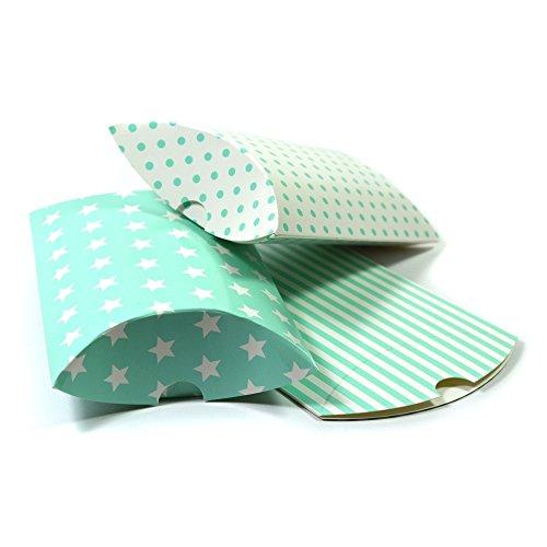 12 Kissenschachteln als Geschenkverpackung