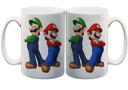 Super Mario and Luigi Bros Fan 11 Oz. Custom Mug