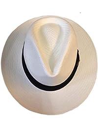 02759f87 Ultra Lightweight Panama Style Hat Adjustable Smart Large Brim Approx 90g