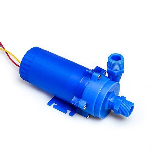 nuzamas 12V 85W DC Pump 14L/min, 8m Heben System-Heizung Solar Wasser warm, Brunnen, Aquarium-Umwälzpumpe, Pumpe des Wasserkühlsystem (Tank-heizungen)