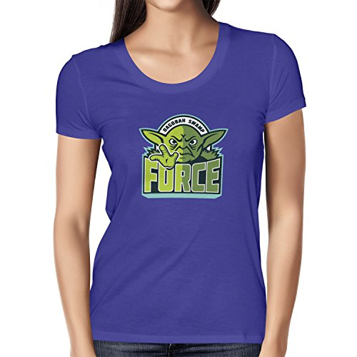 TEXLAB - Dagobah Swamp Force - Damen T-Shirt Marine