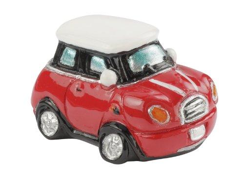 Mini-Cooper 4 x 2,5 x 2,1 cm,rot-weiss