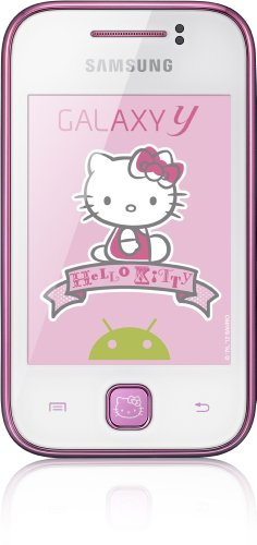 Handy Hello Kitty (Samsung S5360 Galaxy Y Hello Kitty Smartphone (7,6 cm (3 Zoll) Touchscreen, 2 Megapixel Kamera, Android 2.3))