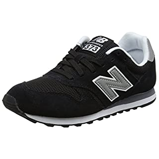 New Balance Herren ML373 Sneaker,, Schwarz (Black/ML373GRE)), 44 EU