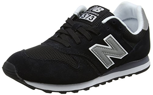 New Balance Herren ML373 Sneaker,, Schwarz (Black/ML373GRE)), 44 EU (New 574 Balance-classic)