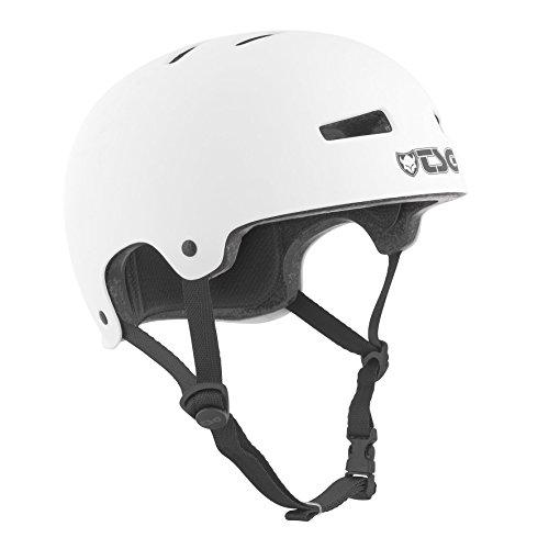 TSG Helm Evolution Solid Color, weiß (satin white), L/XL, 75046