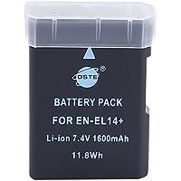 DSTE EN-EL14 Rechargeable Li-ion Battery for Nikon Coolpix P7000, Coolpix P7100, Coolpix P7700, Df, D3100, D3200, D5100, D5200, D5300 Digital Cameras
