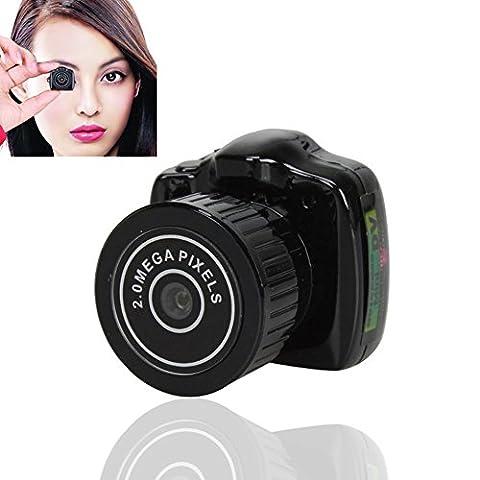 SinHan Spy camera,Mini Hidden spy in the huddle Camera Portable Digital Video Recorder