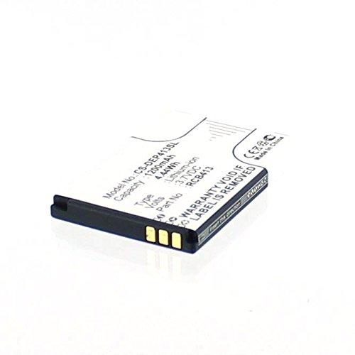 Akkuversum Ersatz Akku kompatibel mit DORO PRIMO 413 ersetzt Akkutyp RCB413