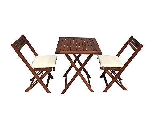 Tavoli E Sedie In Legno Per Esterno.Guidetti 3040l Tavolo E Sedie Legno Per Esterno 60 X 60 X