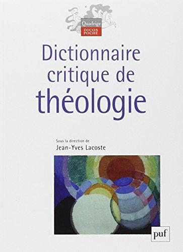 Dictionnaire critique de théologie
