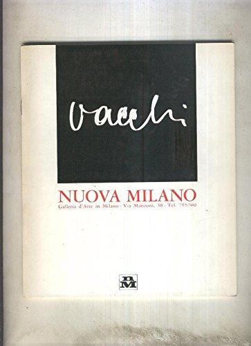 Exposicion : Sergio Vacchi en sala Nuova Milano-Milano en 1965