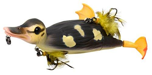 Savage Gear 3D Suicide Duck Wobbler Ente, Entenköder, Angelköder für Hecht, Hechtköder, Enten Jerkbait, Welsköder, Wallerköder, Farbe:Natural;Länge / Gewicht:10.5cm - 28g